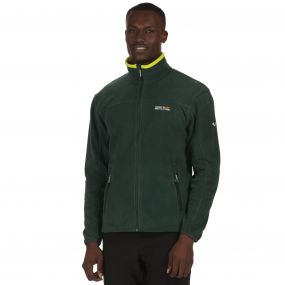 Stanton II Mid Weight Full Zip Fleece Darkest Spruce