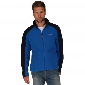 Hedman II Heavyweight Full Zip Fleece Oxford Blue Navy