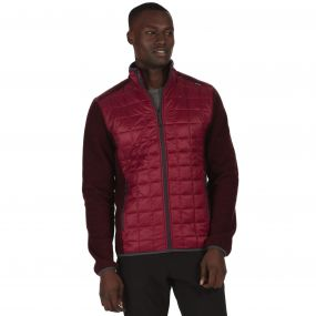 Chilton II Hybrid Lightweight Insulated Fleece Spiced Mulberry