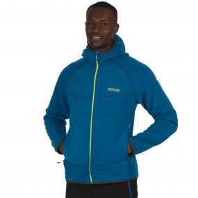 Warnell Wind Resistant Bonded Fleece Petrol Blue
