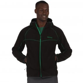 Warnell Wind Resistant Bonded Fleece Black