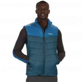 Men's Icebound II Mid Weight Insulated Gilet Majolica Petrol Blue