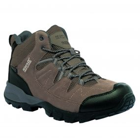 Men's Holcombe Mid Walking Boots Walnut Burnt Tikka