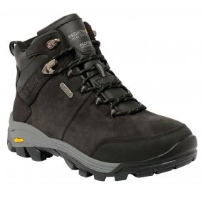 Men's Asheland Hiking Boots Black