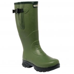 Men's Loxleigh Wellington Boots Deep Green
