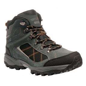 Men's Clydebank Hiking Boots Briar Black