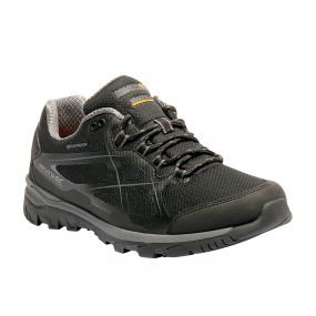 Men's Kota Low Walking Shoes Black Granite