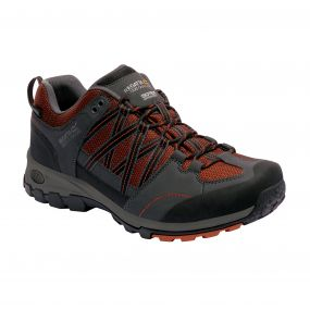 Men's Samaris Low Hiking Shoes Orange Briar