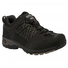 Men's Samaris Low Hiking Shoes Black Granite