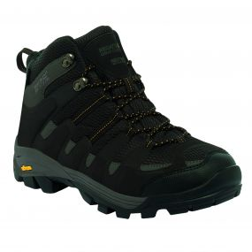 Men's Burrell Hiking Boots Peat Treetop