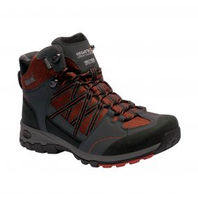 Men's Samaris Mid Hiking Boots Orange Briar