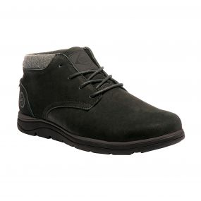 Men's Brockhurst Casual Boots Black