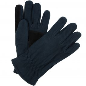 Men's Kingsdale Thermal Microfleece Gloves Navy