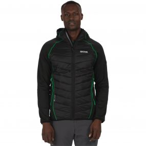 Men's Andreson II Hybrid Stretch Lightweight Insulated Jacket Black