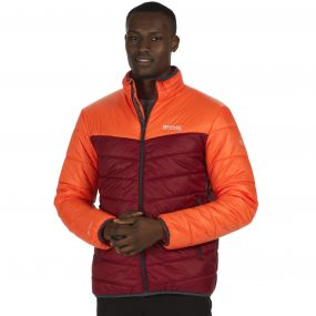 Men's Icebound III Mid Weight Insulated Jacket Magma Spiced Mulberry