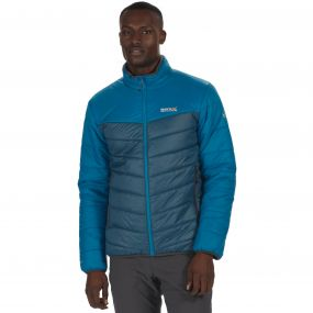 Men's Icebound III Mid Weight Insulated Jacket Petrol Majolica Blue