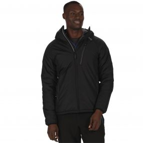 Capen Outlast Insulated Hooded Jacket Black