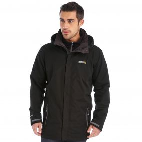 Telmar Waterproof 3-in-1 Jacket Black