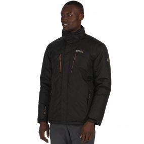 Fabens Breathable Waterproof Insulated Jacket Black