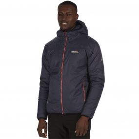 Tuscan Breathable Waterproof Insulated Jacket Seal Grey