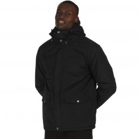 Sternway II Waterproof Insulated Hooded Jacket Black