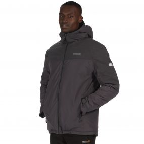 Garforth Waterproof Insulated Jacket Seal Grey Reflective