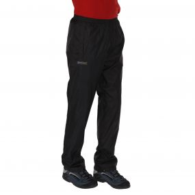 Men's Pack It Breathable Waterproof Overtrousers Black