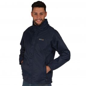 Magnitude IV Waterproof Shell Jacket with Concealed Hood Midnight