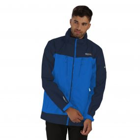 Calderdale II Breathable Waterproof Shell Jacket Oxford Blue Navy