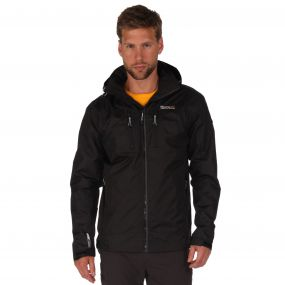 Calderdale II Breathable Waterproof Shell Jacket Black