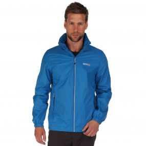 Lyle III Waterproof Shell Jacket with Concealed Hood Imperial Blue