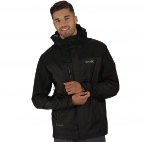 Men's Cross Penine III Hybrid Waterproof Jacket Black