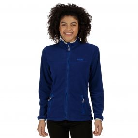 Floreo II Mid Weight Full Zip Fleece Twilight Blue