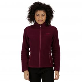Floreo II Mid Weight Full Zip Fleece Fig