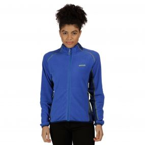 Jomor Lightweight Full Zip Fleece Dazzling Blue Twilight