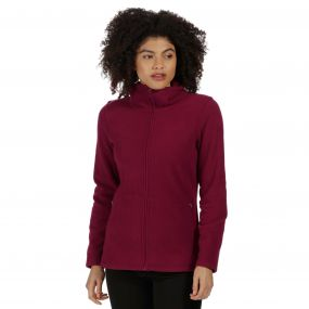 Cathie III Full Zip Anti-Pill Fleece Dark Pimento