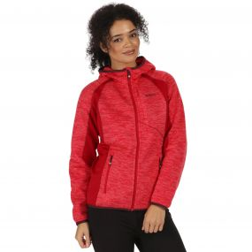Willowbrook III Knit Effect Fleece Scarlet Punch