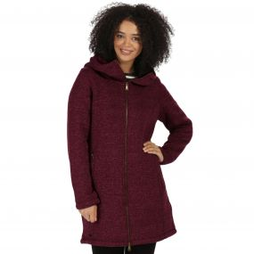 Radella II Long Length Knit Effect Bonded Fleece Fig