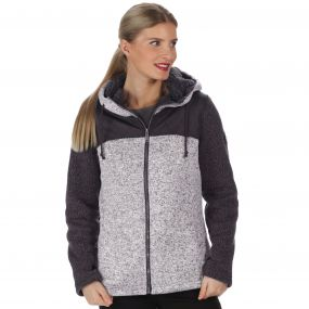 Zetta Knit Effect Bonded Fleece Dust