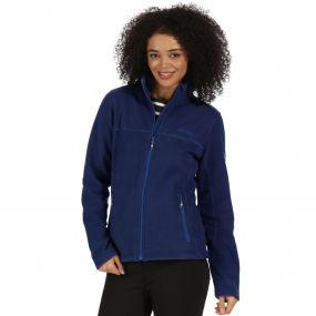 Nova V Full Zip Heavyweight Fleece Twilight Blue