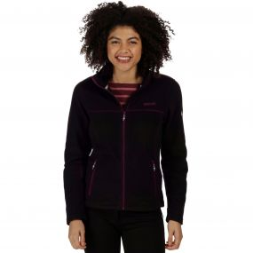 Nova V Full Zip Heavyweight Fleece Black