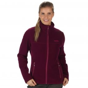 Nova V Full Zip Heavyweight Fleece Fig
