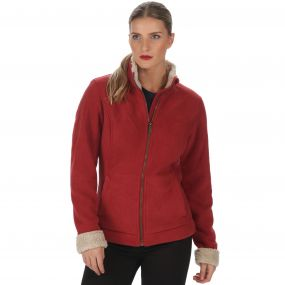 Blesila Heavyweight Fleece Garnet Warm Beige