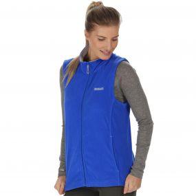 Sweetness II Lightweight Fleece Gilet Dazzling Blue Light Steel