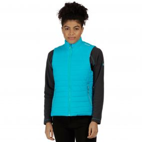 Women's Icebound II Mid Weight Insulated Gilet Aqua