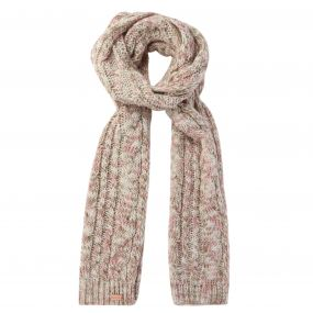Women's Frosty Knitted Scarf Light Vanilla