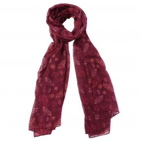 Women's Peggie II Printed Cotton Scarf Fig
