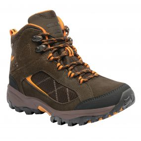 Women's Clydebank Mid Hiking Boots Aztec Brown Zinnia