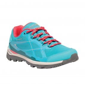 Women's Kota Low Walking Shoes Aqua Geranium