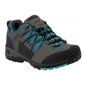Women's Samaris Low Hiking Shoes Enamel Charcoal